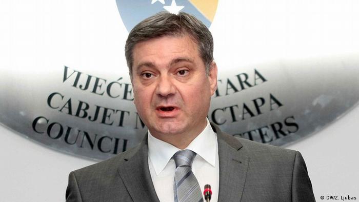 Bosnien und Herzegowina Denis Zvizdic
