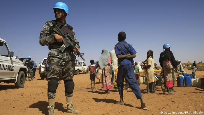 Darfur Flüchtlingslager in Zam Zam - UNAMID (Foto: Getty Images/AFP/A. Shazly)