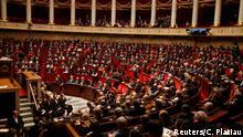 Frankreich Nationalversammlung - Abstimmung über Verfassung