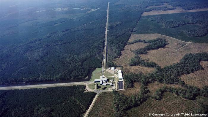 USA LIGO Livingston Forschungszentrum (Courtesy Caltech/MIT/LIGO Laboratory)