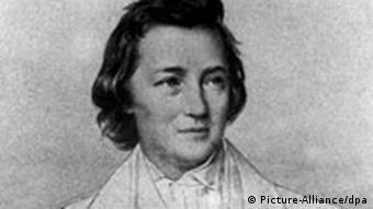 Heinrich Heine (1797-1856), nach einer 1842 entstandenen Bleistiftzeichnung von Samuel Diez (Foto: dpa)