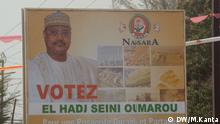 Wahlplakat für Seini Oumarou Niger