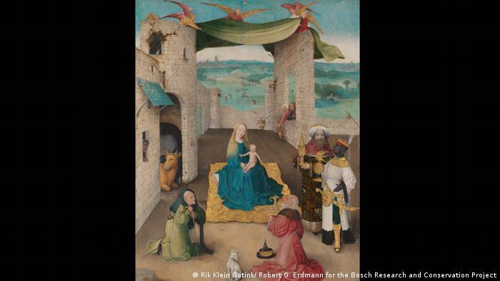 500 Jahre HIeronymus Bosch Nordbrabant Museum s'Hertogenbosch Anbeteung der Heiligen Drei Könige