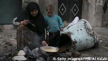Die Not ist groß in Aleppo