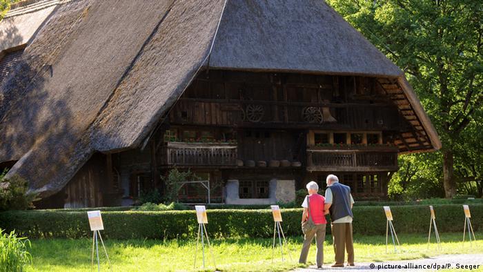 Deutschland Schwarzwald Vogtsbauernhof bei Gutach