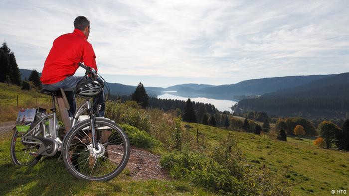 Deutschland Schwarzwald E-Bike und See