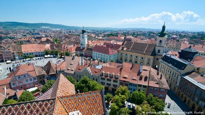 Rumänien Panoramaansicht Hermannstadt Foto: picture alliance/robertharding/M. Runkel