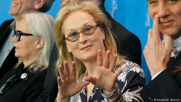 Meryl Streep als Jury-Präsidentin der 66. Berlinale / Internationale Filmfestspiele Berlin 2016. (Reuters/F. Bensch)