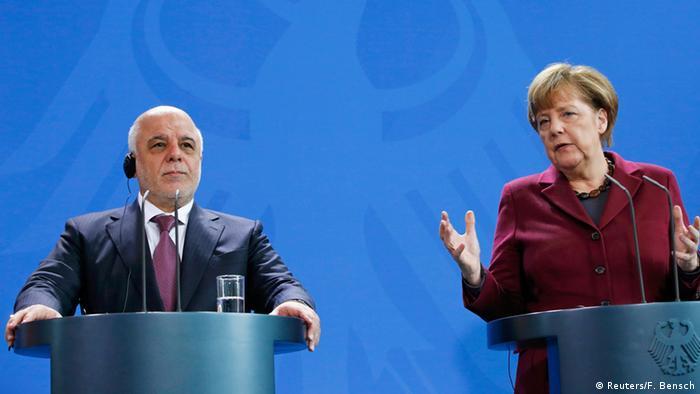 Deutschland Merkel und al-Abadi in Berlin