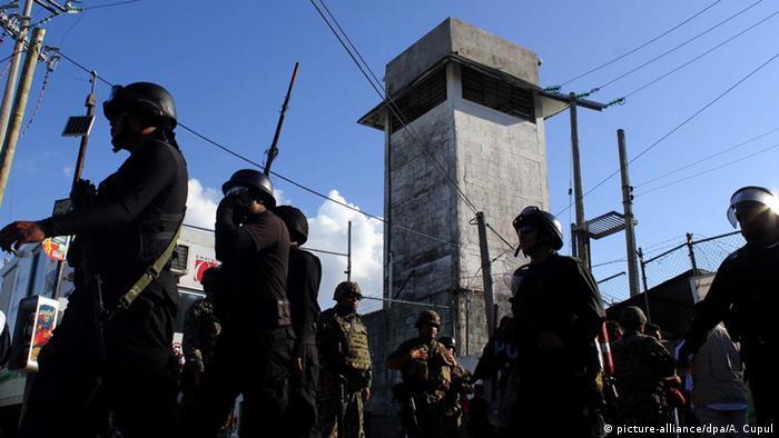 Mexiko Gefängnisaufstand in Cancun