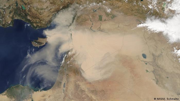 Пилова буря над Близьким Сходом