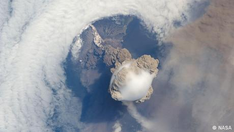Sarychev Peak eruption (Photo: NASA)