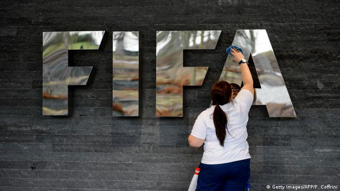 FIFA Logo (Getty Images/AFP/F. Coffrini)