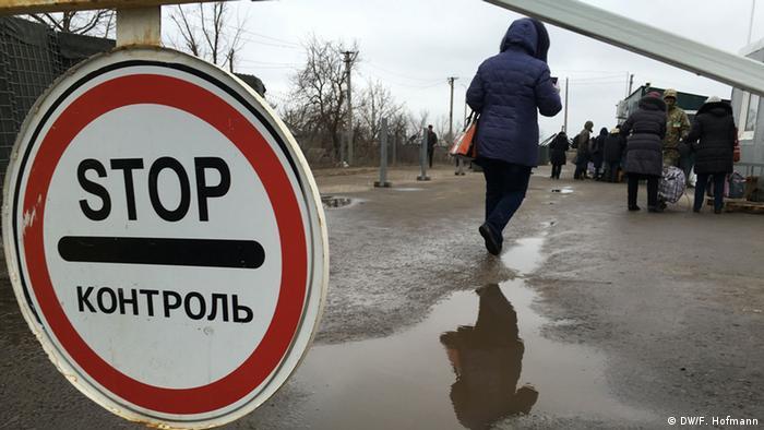 Luhansk border