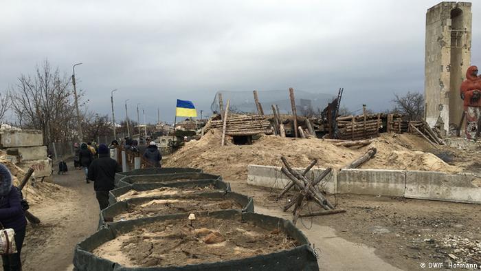 Пеший пункт пропуска в Станице Луганской