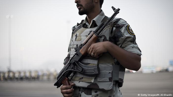 Saudi Arabian police officer