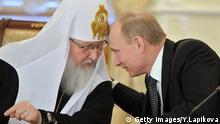 Wladimir Putin Patriarch Kyrill