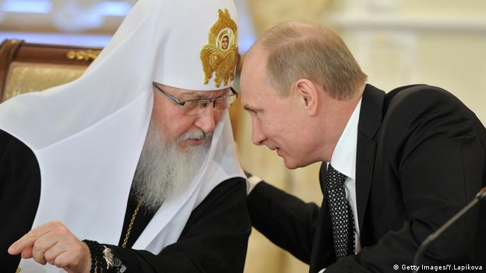 Wladimir Putin und Patriarch Kyrill (Foto: Getty Images/Y.Lapikova )