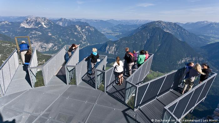 Skywalk 5finger im Salzkammergut