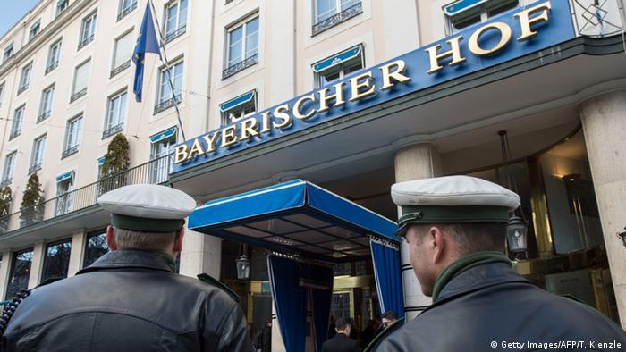 Гостиница Bayrischer Hof, в которой традиционно проходит Мюнхенская конференция по безопасности