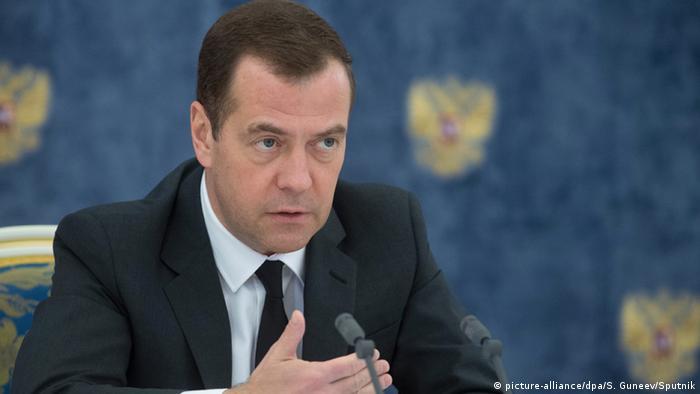 Russland Dmitri Medwedew Interview Staatsfernsehen