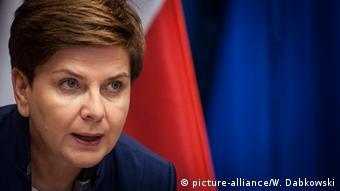 Polen Premierministerin Beata Szydlo