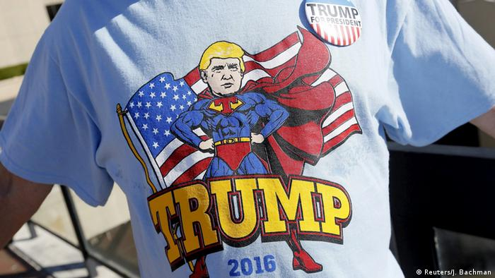 USA Vorwahlen Donald Trump Superman