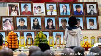 Taiwan Erdbeben Trauer