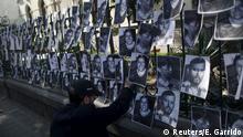 Protesta en México contra los asesinatos de periodistas.