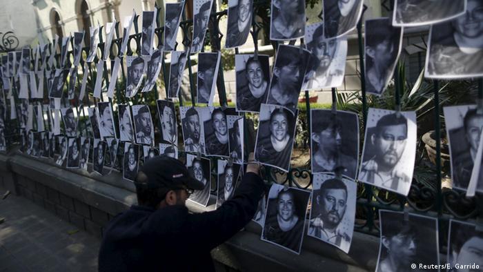 Mexiko Demonstration Ermordete Journalisten