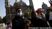 Mexiko Vorbereitungen auf Papstbesuch in Mexiko Stadt
