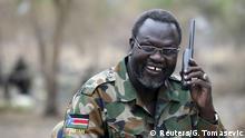 Südsudan Rebellenführer Riek Machar