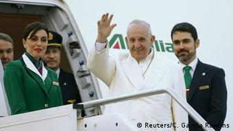 Italien Abflug Papst Franziskus nach Kuba und Mexiko