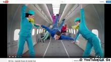 Screenshot Youtube. Musikvideo OK Go - Upside Down & Inside Out +++ (C) YouTube/OK Go