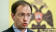 Russland Vladimir Medinsky Kultusminister