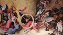 Ausstellung Hieronymus Bosch: Visionen eines Genies Der Heuwagen (Ausschnitt)