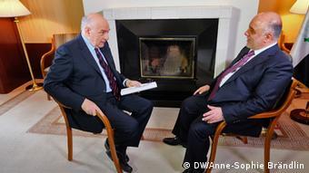 Conflict Zone Haider al-Abadi Irak Premierminister