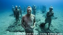 ***ACHTUNG: Nur zur aktuellen Berichterstattung über dieses Museum nutzen und folgenden Link zu den Bildern liefern: http://www.underwatersculpture.com !*** http://www.underwatersculpture.com/ Museo Atlantico, Lanzarote © Jason deCaires Taylor - creator & photographer