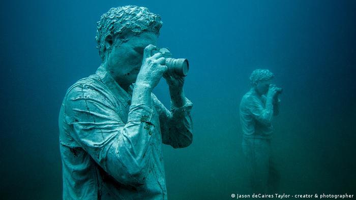 Pressebilder Museo Atlantico, Lanzarote - Künstler Jason deCaires Taylor