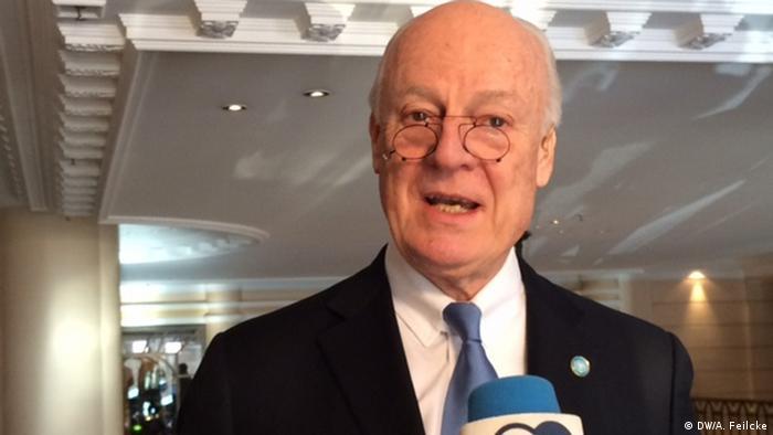 Staffan de Mistura, enviado especial da ONU para a Síria: Ninguém mais consegue vencer essa guerra