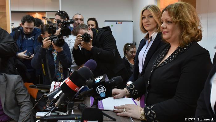 Mazedonien Anklage der Sonderstaatsanwältin Katica Janeva