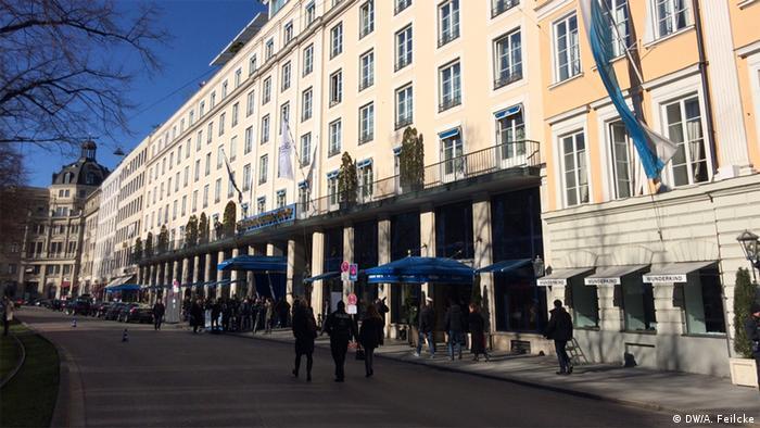 Мюнхенская конференция: отель Bayrischer Hof
