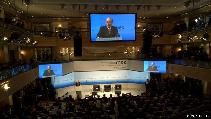 На Мюнхенской конференции по безопасности выступает Вольфганг Ишингер