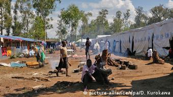 Des réfugiés burundais dans le camp de de Gashora, à 55 km de Kigali