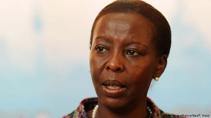 Louise Mushikiwabo ist Außenministerin Ruandas (Foto: picture-alliance/dpa/T. Hase)