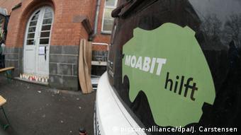 Berlin Initiative Moabit hilft