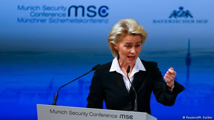 München Sicherheitskonferenz Ursula von der Leyen