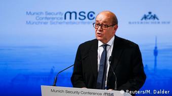 München Sicherheitskonferenz Jean-Yves Le Drian