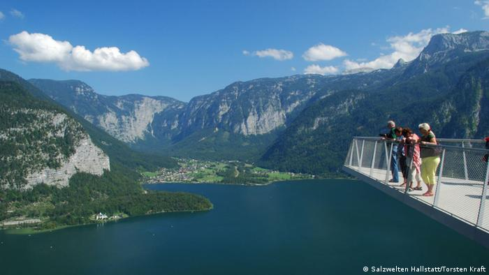 Österreich Hallstatt Aussichtsplattform Welterbeblick