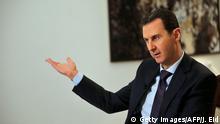 Damaskus Baschar al-Assad AFP Interview